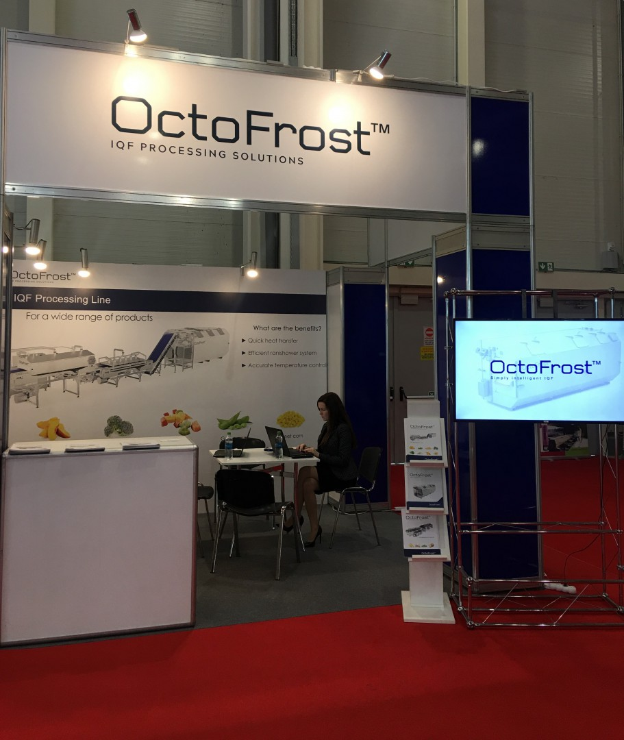 OctoFrost being featured by EuroMeatNews at Indagra 2019