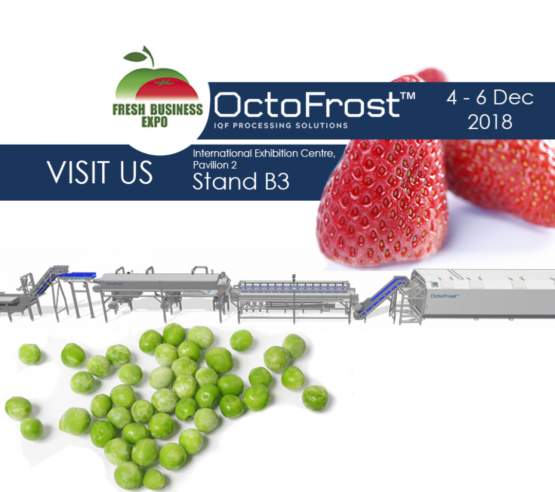 MEET OCTOFROST AT THE FRESH BUSINESS EXPO 2018 IN UKRAINE