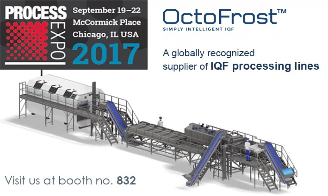 MEET OCTOFROST AT PROCESS EXPO 2017 IN CHICAGO
