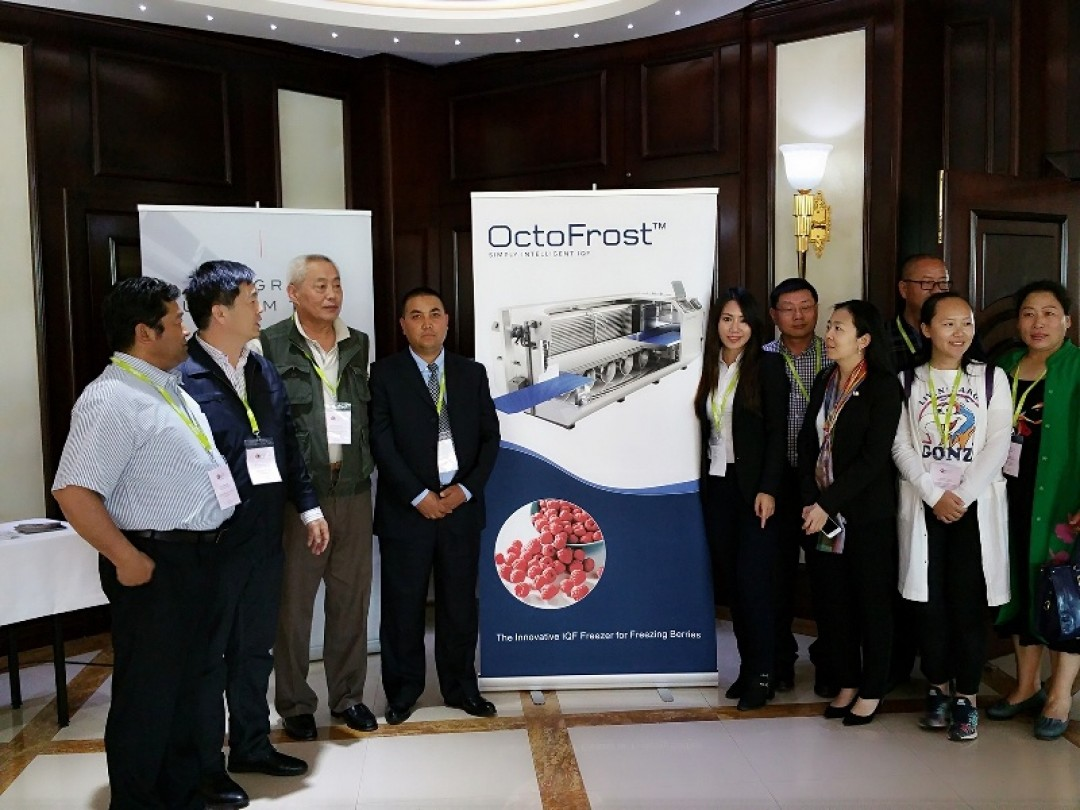 CHINESE RASPBERRY DELEGATION TRAVELS TO SERBIA AND SWEDEN
