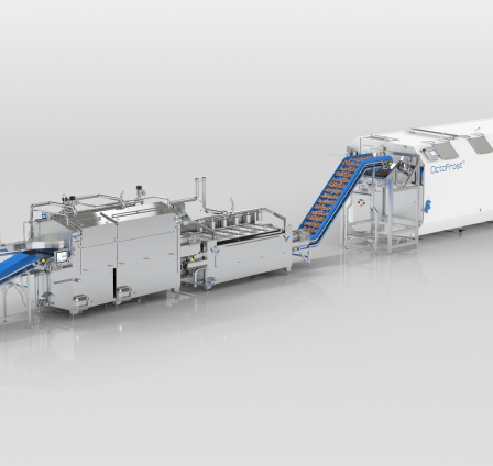 OctoFrost releases 3D animation illustrating IQF shrimp processing